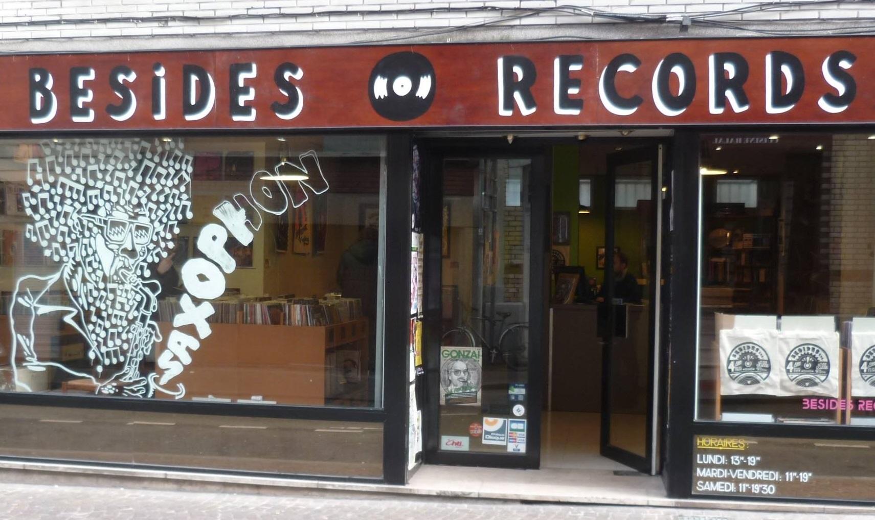 Besides Records facade